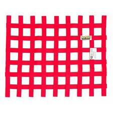 Window Net & Fitting Kit For Racing/Rally/Saloon/Autograss - Red/Quarterlight