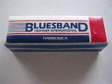 BLUESBAND HOHNER INTERNATIONAL HARMONICA W/INSTRUCTIONS