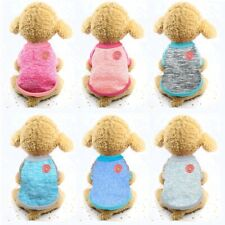 Pet Dog Winter Fleece Sweater Knitwear Clothes Puppy Knitted Coat Warm Pullover