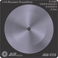 Alliance Model Works 1:48 Prop Blur Fw190 3.3m VDM9-12153A / 9 #AW028