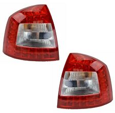 Pair Tail lights Skoda Octavia 03/2009-10/2013 New Rear Lamps LED 10 11 12