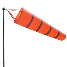 2pcs 200cm Long Wind Socks Windsocks Reflective Belts Safety Sport Airport Flag
