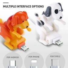 More details for 1.2m type-c iphone micro smartphone charging humping dog fast charger cable uk