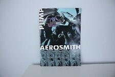 More details for aerosmith pump tour programme 1989 with album lyric sheet good condition
