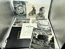 Gene Autry program Bluegrass Country Music 8 X 10 photo Buick misc scrapbook