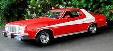 1976 ford gran torino starsky hutch & 1:24 green light 84042