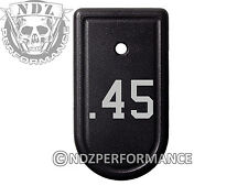 for Springfield Armory XDS 9mm 45ACP Magazine Mag Plate BK .45 Caliber
