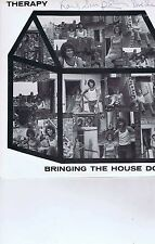 THERAPY Bringing the house down LP SIGNED MAG 0009