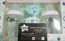Tommee Tippee Starter Set 2 Bottles & 2 Orthodontic Soothers from Birth BPA Free