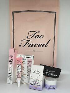 NIP Too Faced HangoverRX Primer & Night Cream, Set of 2 in Bag!