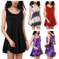 Rayon Short Dresses for Women with Smocked