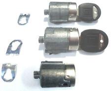 CHEVY/GMC OEM Front Doors & Rear Lock Cylinders Set W/2 Round OEM GM Logo Keys