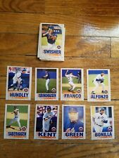 1995 Kahns N.Y. Mets complete 35 card set from stadium giveaway