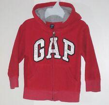babyGAP Size 2 Years Boys Ruby Red Fleece Hoody Jacket