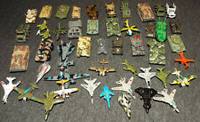 Lot of 47 Small Fundrise, Micro Machine & Other Military Vehicles Lot K (Worn)