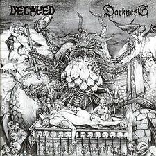 Decayed / Darkness - united in blasphemy, CD