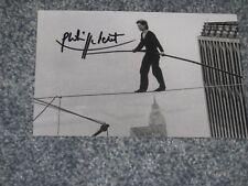 PHILIPPE PETIT Signed 4x6 MAN ON WIRE Photo AUTOGRAPH 1F