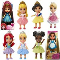 DISNEY PRINCESS MINI TODDLER MERIDA ARIEL CINDERELLA AURORA RAPUNZEL SNOW BELLE