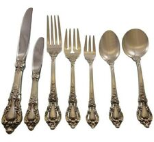 Eloquence by Lunt Sterling Silver Flatware Service Set 63 Pieces