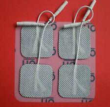 20 Klebe Elektroden Pad 50x50mm EMS TENS Gerät Beste Qualität 5x5cm Muskel HWS
