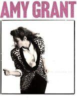 AMY GRANT 1985 UNGUARDED TOUR CONCERT PROGRAM BOOK BOOKLET / NEAR MINT 2 MINT