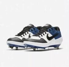 Nike AIR Alpha Huarache Elite 2 Low Baseball Metal Cleats Blue Mens size 10 New