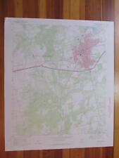 Sweetwater Texas 1973 Original Vintage USGS Topo Map