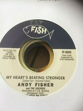 ANDY FISHER-MY HEARTS BEATING STRONGER-NORTHERN SOUL 45-RE ISSUE