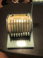 Paymaster Check Writing Machine - Series 8000 Ribbon Writer Tested