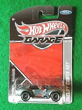 2010 Hot Wheels Garage Series Shelby Cobra 427, Real Riders, New in Pack, Beauti