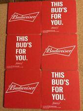 Budweiser Lager/Weissbeer Collectable Beer Bar Mats
