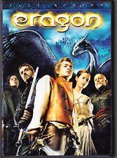 Eragon (DVD, 2007, Full Frame) Edward Speleers Jeremy Irons John Malkovich