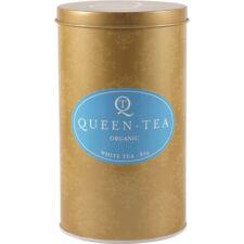 3 x 80g QUEEN TEA Organic White Tea Tin ( 240g )