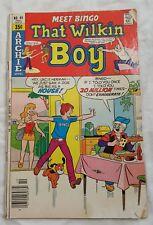 """Archie Series """"Meet Bingo That Wilkin Boy"""" #44 October 1978"""