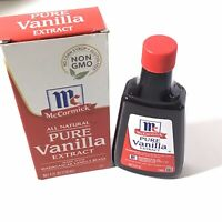 McCormick All Natural Pure Vanilla Extract, 4 Fl Oz Pack of 1. Exp. 2024