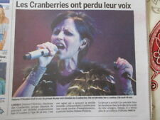 ***PROMO*** 2x JOURNAL DU DECES DE: DOLORES O'RIORDAN - CRANBERRIES - 16/01/2018