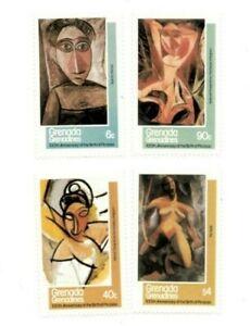 Grenadines 1981 435-8 - Picasso - Set of four - MNH