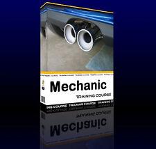 Car Mechanic Vehicle Engine Repair Training Course Manual CD Book Petrol Diesel
