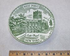 "WEST POINT CADET CHAPEL NEW YORK COLLECTOR PLATE - 7"" WEST POINT PLATE"