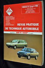 Revue technique automobile Renault 21 essence et diesel n° 253 R
