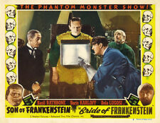"""Famous Monsters Son of Frankenstein Poster Replica Print 14 x 11"""""""