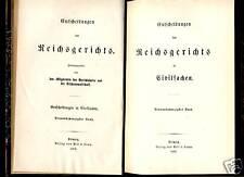 Justiz---Entscheidungen des Reichsgerichts--1892 -Zivil