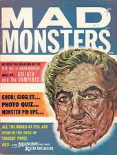 MAD MONSTERS #9 - Fine - Vincent Price, John Carradine