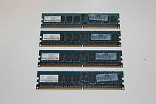 LOT OF 4 HP 345112-851  NT512T72U89A0BV-5A 512MB Memory RAM PC2-3200R-333-12-F1