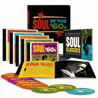 NEW & SEALED! Soul of the '60s (9-CD Box Set, Booklet) TIME LIFE Various Artists