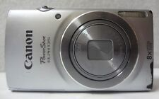 Canon PowerShot ELPH 135 -16MP Digital Camera Silver 8x Optical Zoom PC2048  -16