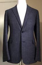NWT $2595 Ralph Lauren Purple Label Men Sport Coat Blazer LT Blue 38R US Italy