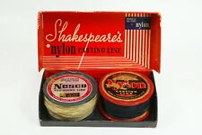 Vintage Shakespeare's & Nesco Nylon Fishing Line Plus Shakespeare's Store Box