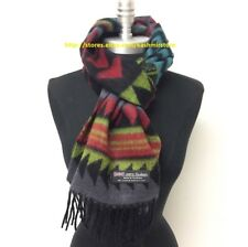 New 100%Cashmere Scarf Classic Plaid Black/Gray/Teal/Red/Lime Scotland Warm Wool