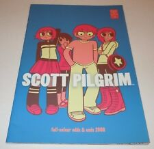 Scott Pilgrim Odds & Ends Full-Colour 2008 Comic Oni Press Color 1st Print First